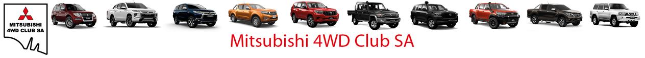 Mitsubishi 4WD Club SA Logo