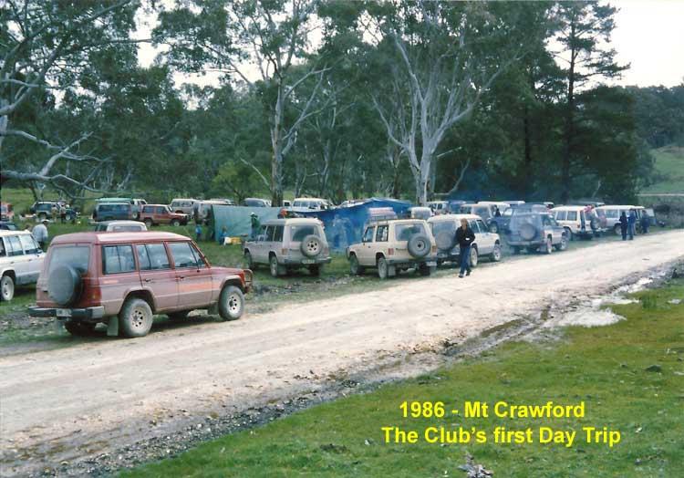 Club's First Day Trip 1986