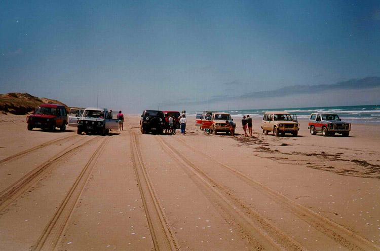 Coorong Trip 1987