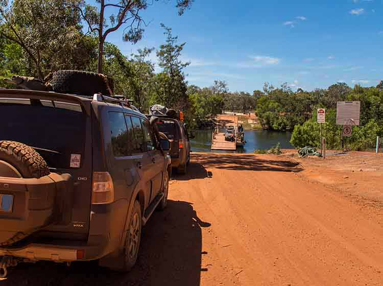 Cape York 2018 Jardine River Ferry