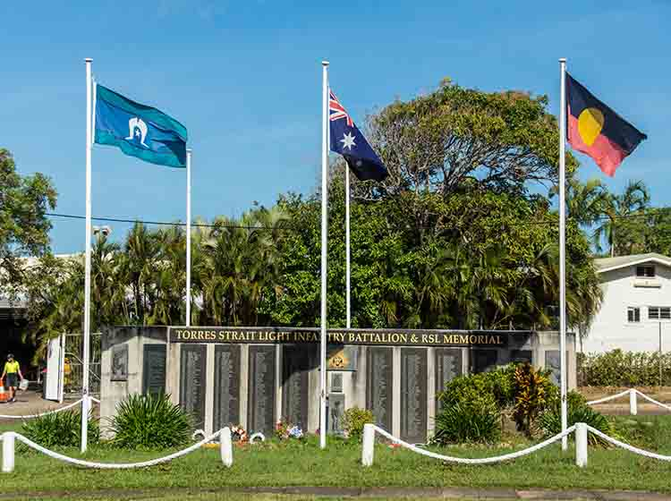 Cape York 2018 Thursday Island - War Memorial