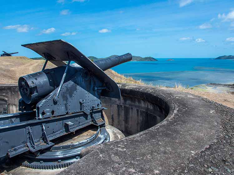 Cape York 2018 Thursday Island - Green Hill Fort