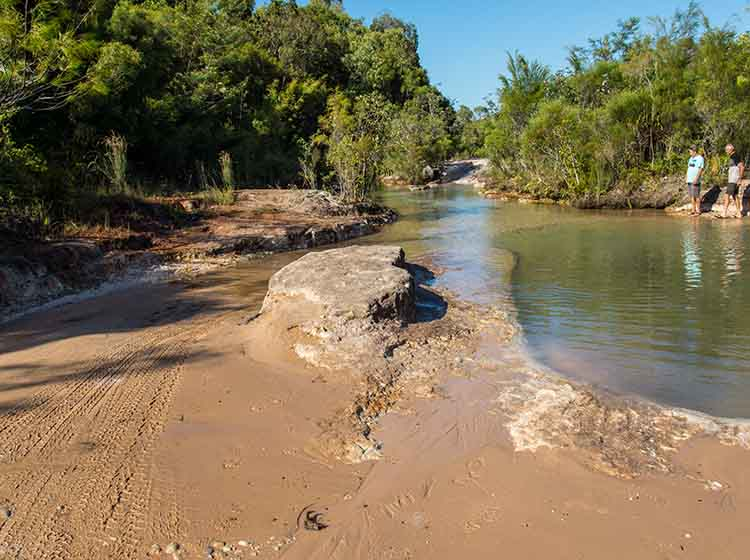 Cape York 2018 Canal Creek Crossing